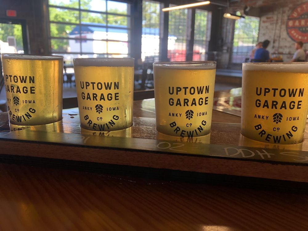 Food from Uptown Garage Brewing