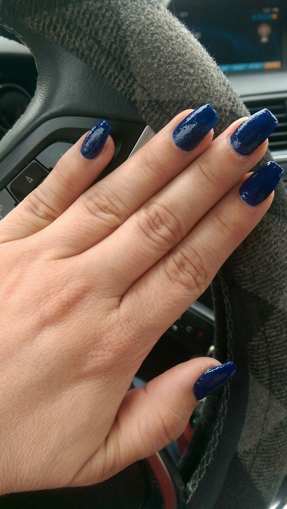 Acrylics for $23. Cool opi nail color with sandy texture - Yelp