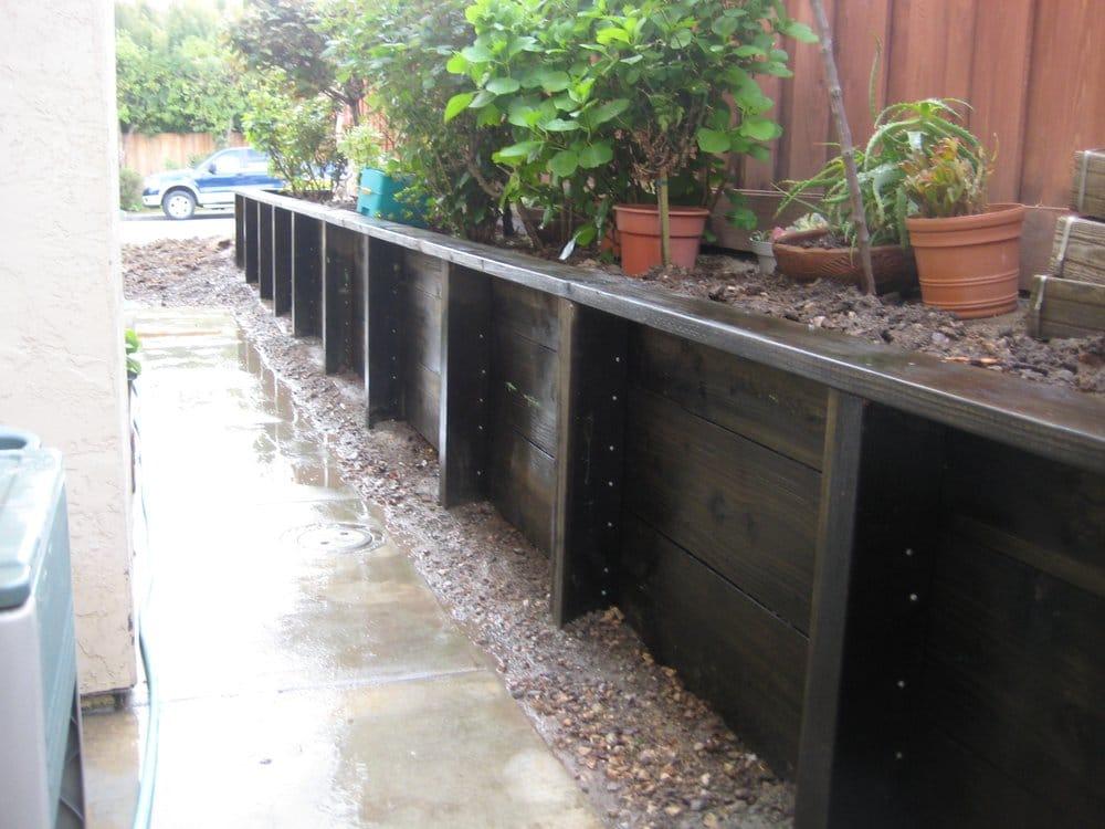 Pressure Treated Retaining Walls Yelp