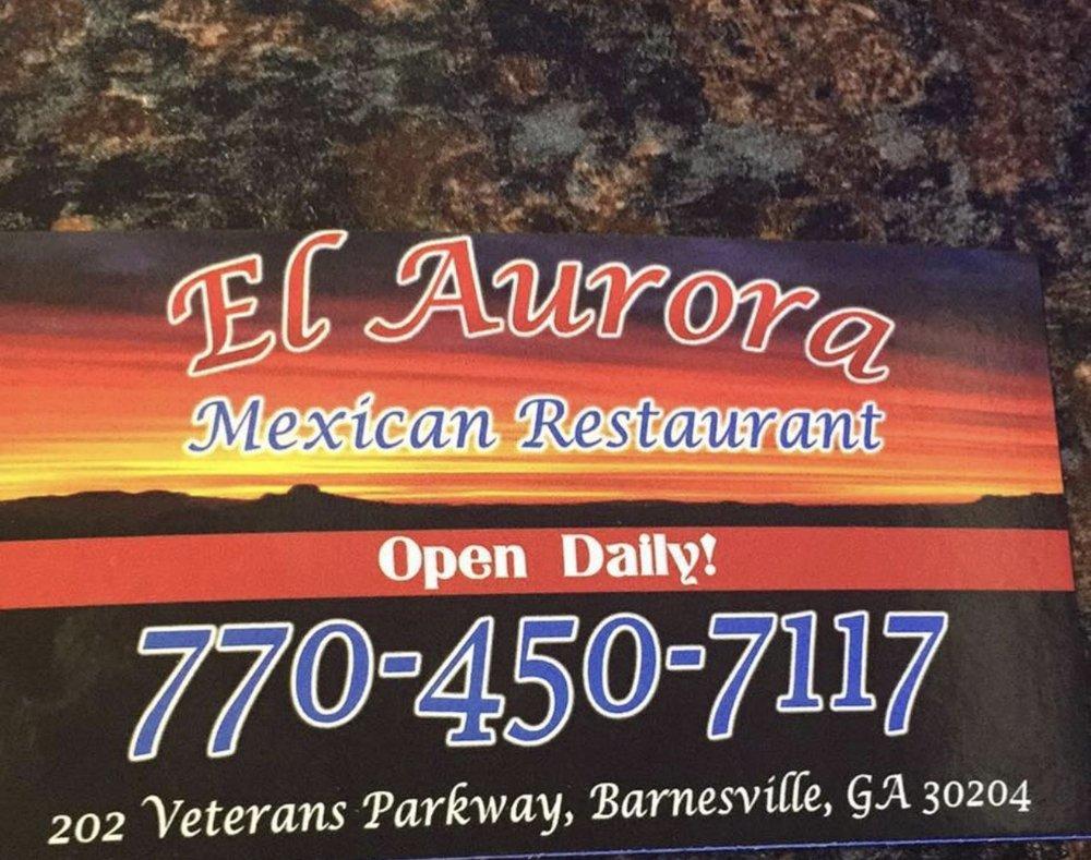 El Aurora: 202 Veterans Pkwy, Barnesville, GA