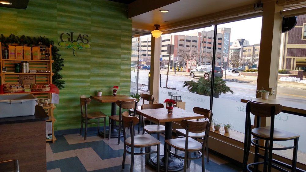 Glas Coffee - Green Bay: 228 N Adams St, Green Bay, WI