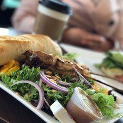 Photo Of Niche Cafe Fairfield Ca United States Thai En Salad