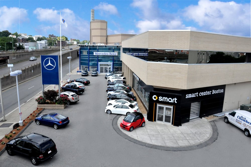 Smart center boston 11 photos 10 reviews car for Mercedes benz rockville centre service