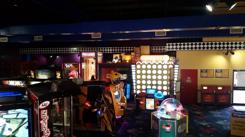 bigger brighter arcade games yelp