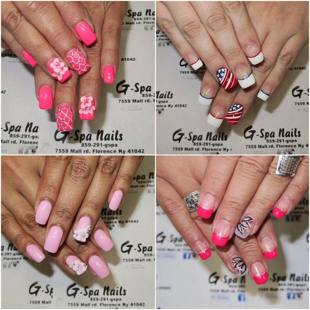 G Spa Nails: 7559 Mall Rd, Florence, KY