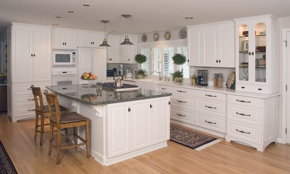 High Pressure Laminate Kitchen Cabinets