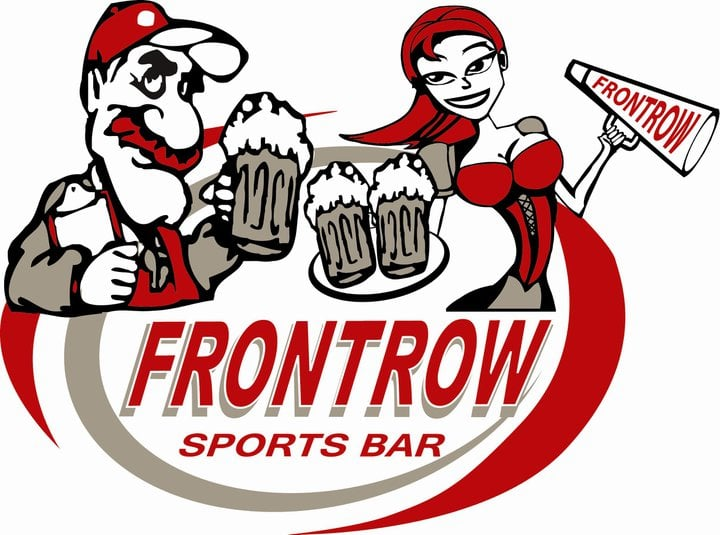 the front row sports bar sports bars 4812 west broad. Black Bedroom Furniture Sets. Home Design Ideas