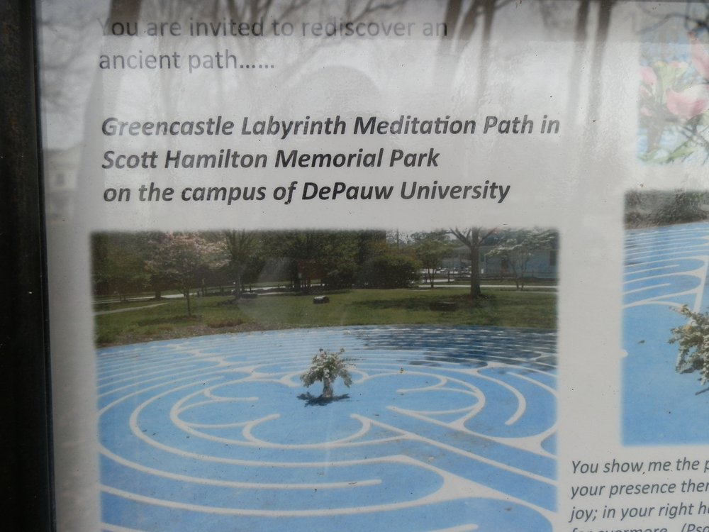 Labyrinth: 600 S Jackson St, Greencastle, IN
