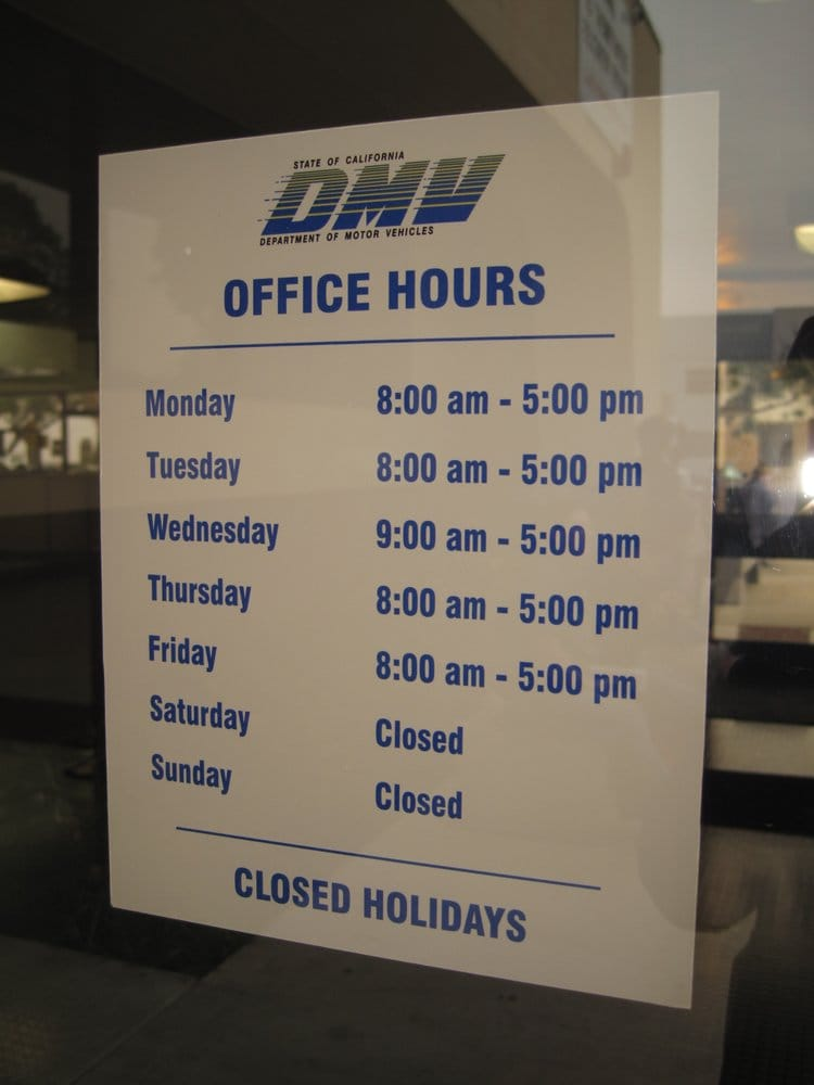 Dmv hours yelp for Department of motor vehicles near my location