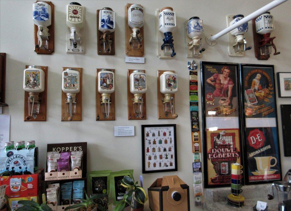 Museum of Antique Coffee Mills & Coffee Bar: 509 E Ridgeway St, Clifton Forge, VA
