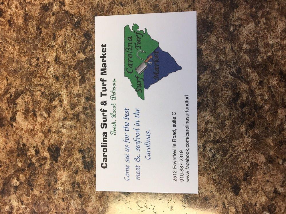 Carolina Surf and Turf: 2512 Fayetteville Rd, Lumberton, NC