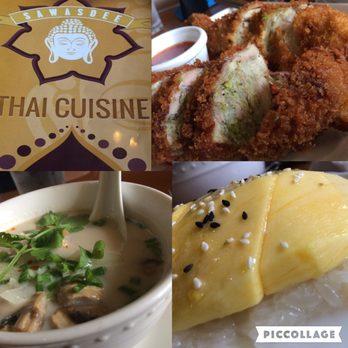Sawasdee thai cuisine order food online 1090 photos for Angel thai cuisine