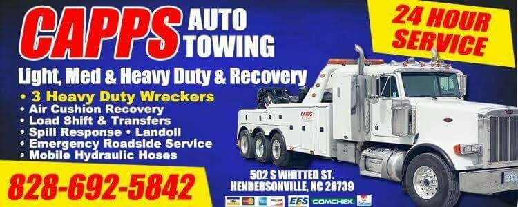 Towing business in Hendersonville, NC