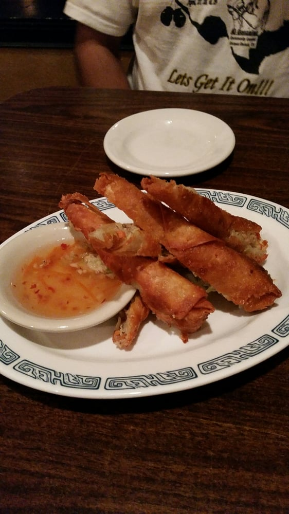 Egg rolls are the best yelp - Yoshi japanese cuisine ...