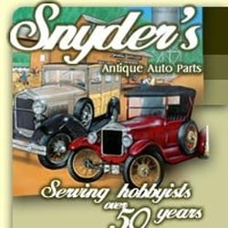 Yelp Reviews for Snyder's Antique Auto - (New) Auto Parts & Supplies
