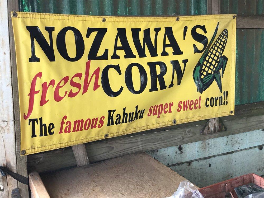 Nozawa's Fresh Kahuku Corn: 802 Kamehameha Hwy, Wahiawa, HI