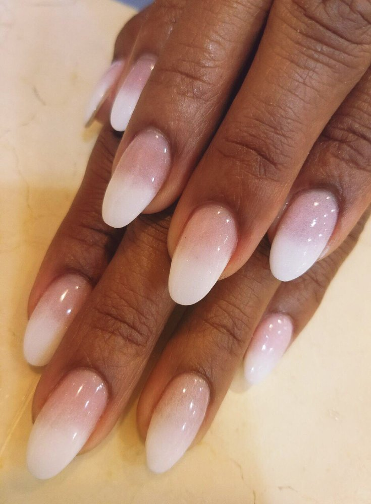 Photo Of Nail Elegance Salon Encino Ca United States Sns Pink And
