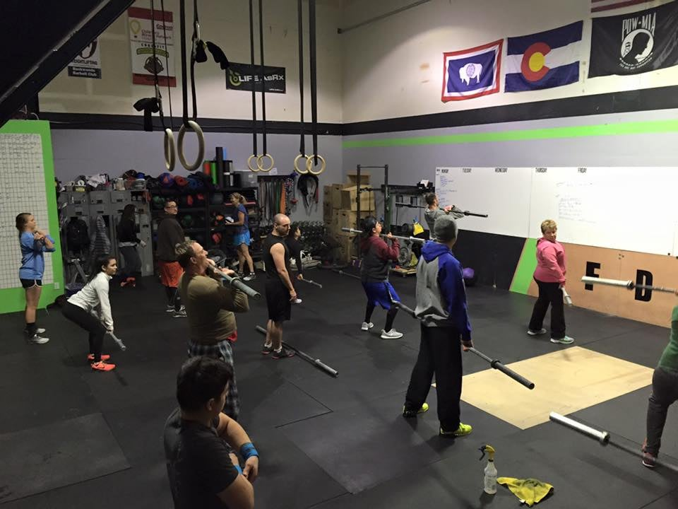 Crossfit Down Valley: 101 Airpark Dr, Gypsum, CO