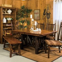 Photo Of Northwoods Furniture Gallery Eagle River Wi United States Amish Dining