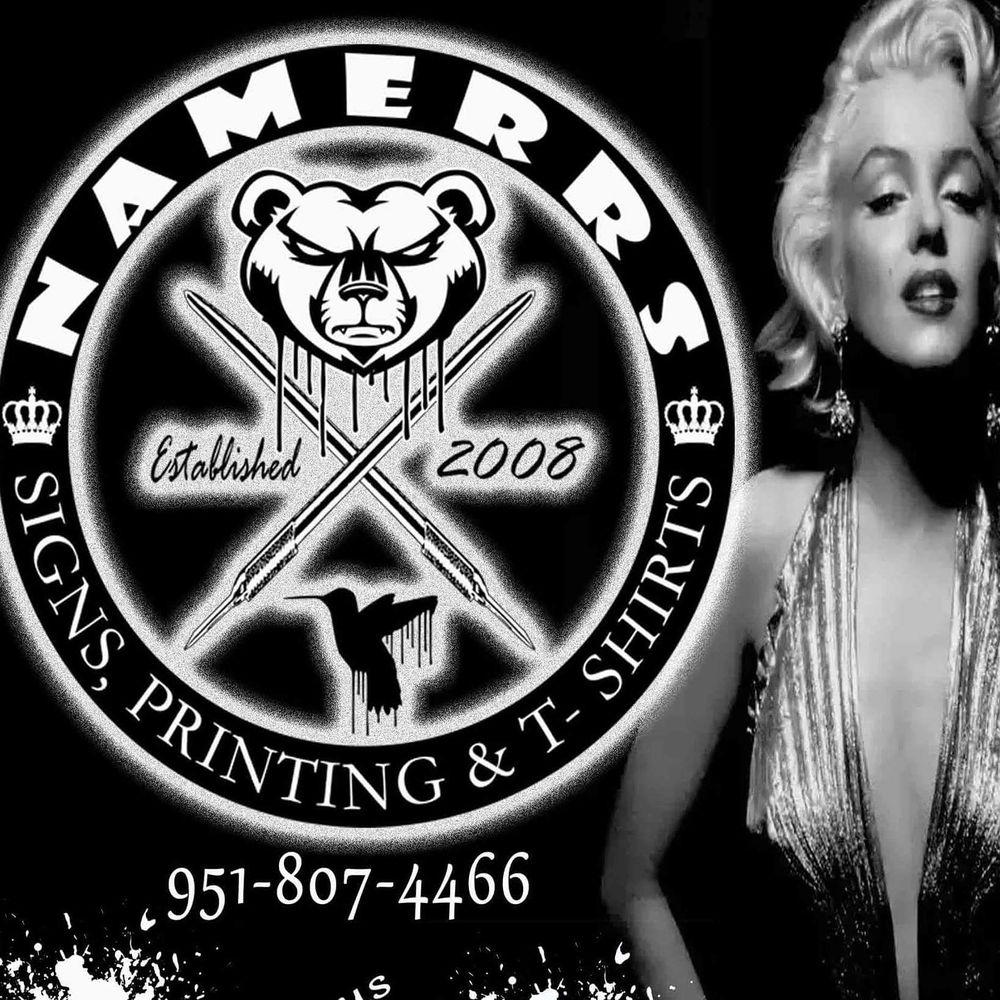Namerrs Signs & Printing: 227 E Main St, San Jacinto, CA