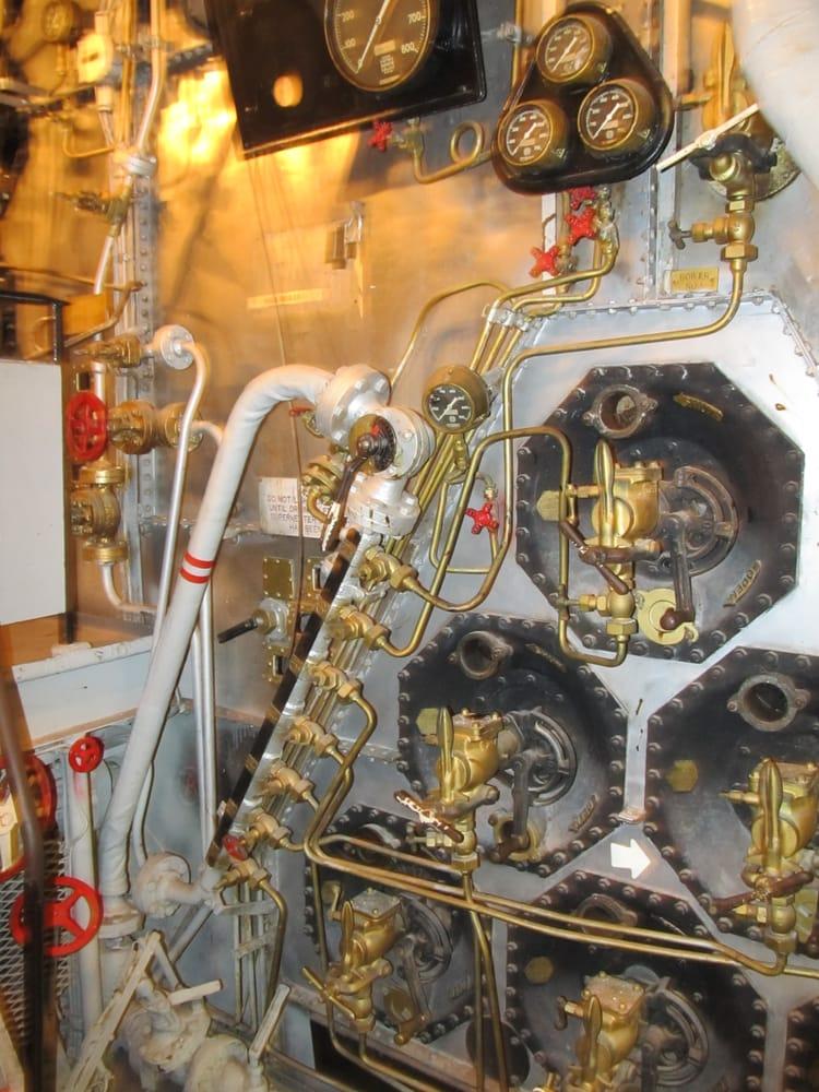 Battleship Engine Room: Alabama Engine Room Boiler