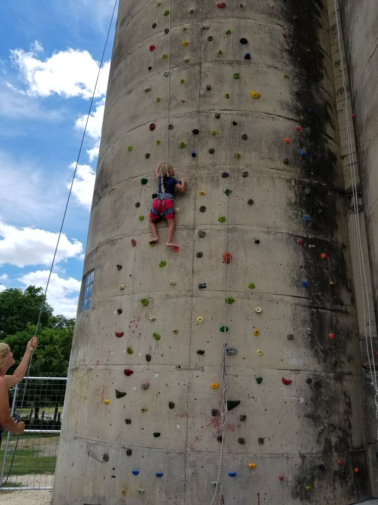 Siloville Climbing Gym: Next To Park 455 S Elm St, Hico, TX