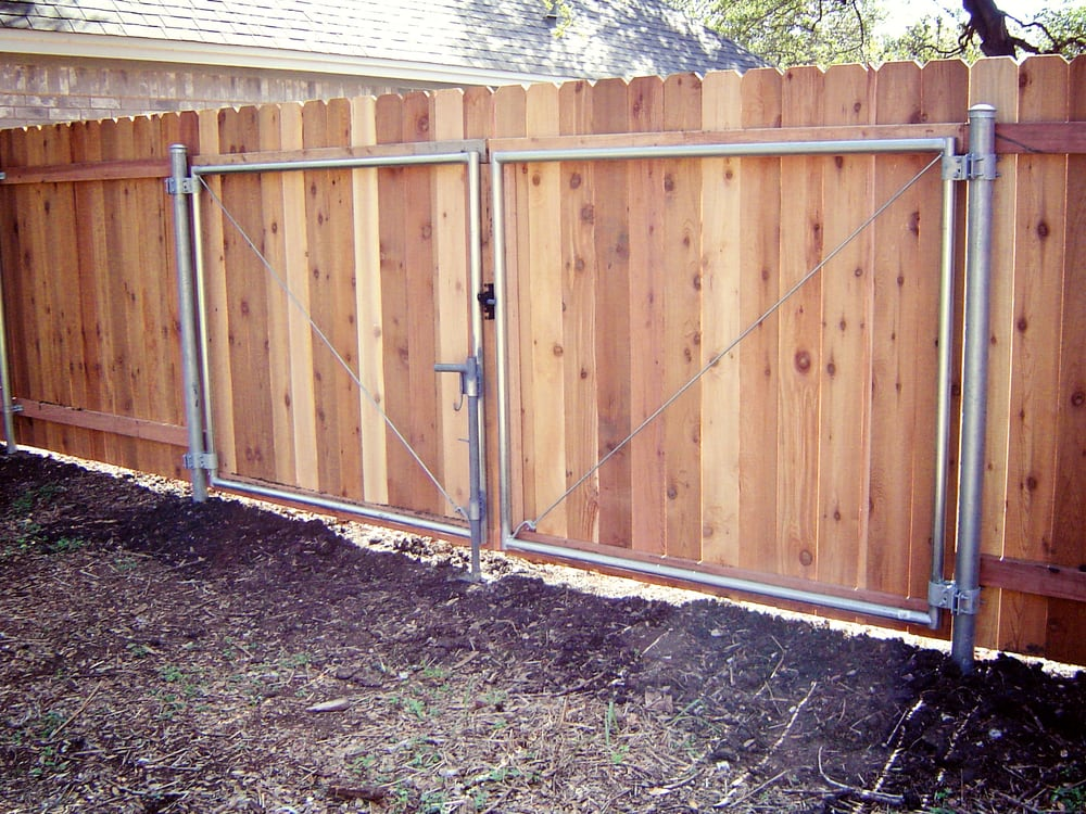 how to install double drive gates