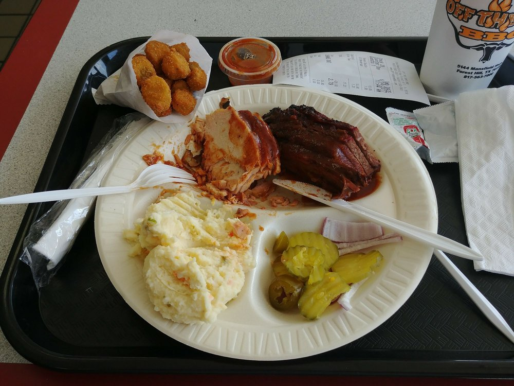 Off The Bone BBQ: 5144 Mansfield Hwy, Forest Hill, TX