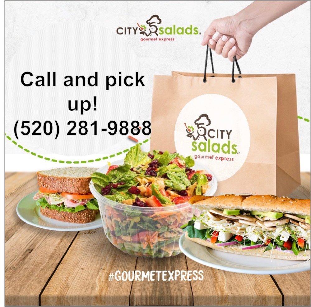 City Salads: 120 W White Park Dr, Nogales, AZ