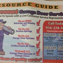 Discount Garage Doors discount garage door services garage door services sacramento