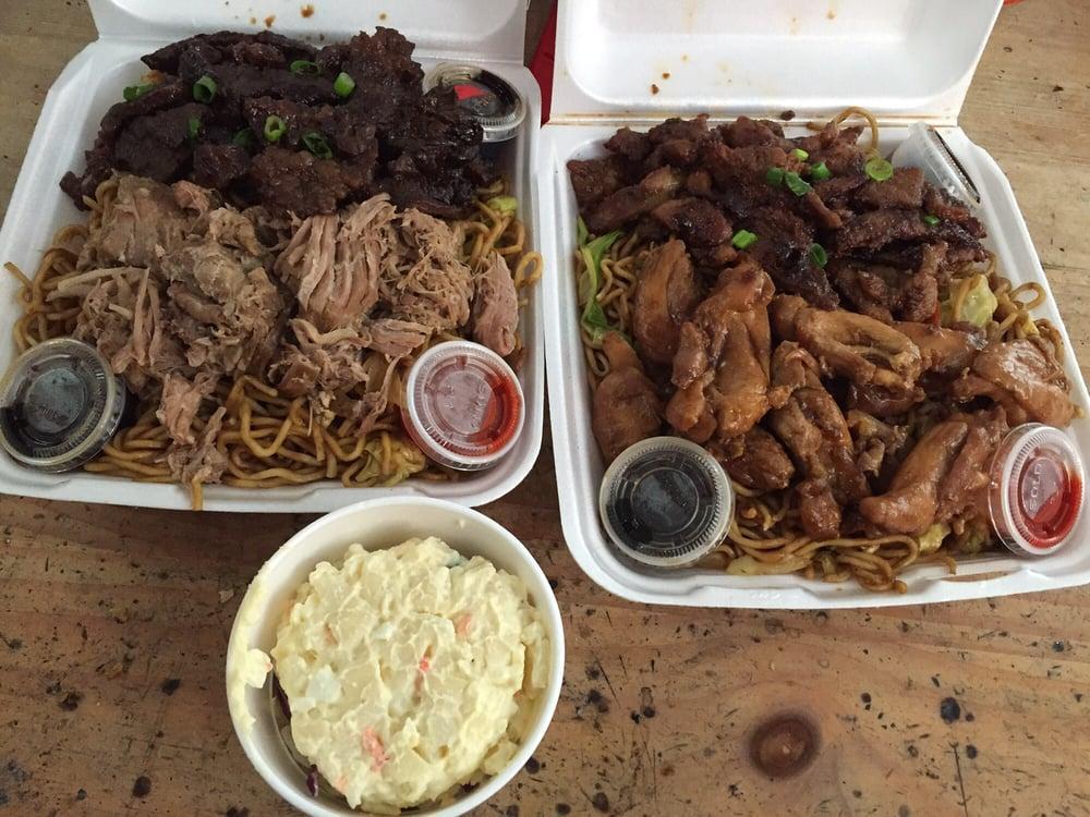 Spice Porkteriyaki Chicken W Noodles Teriyaki Beefkahlua Pig W