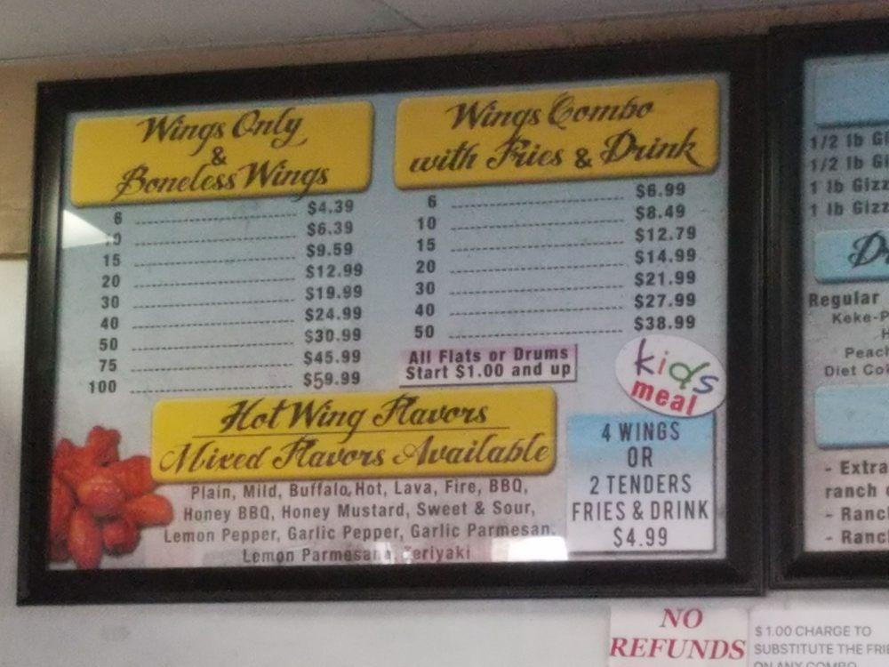 Kings Wings: 1100 Forestdale Blvd, Birmingham, AL