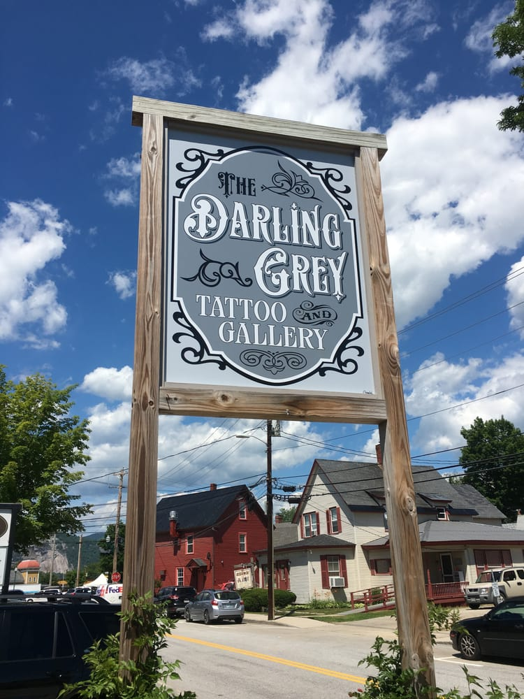 The Darling Grey Tattoo & Gallery: 25 Seavey St, North Conway, NH
