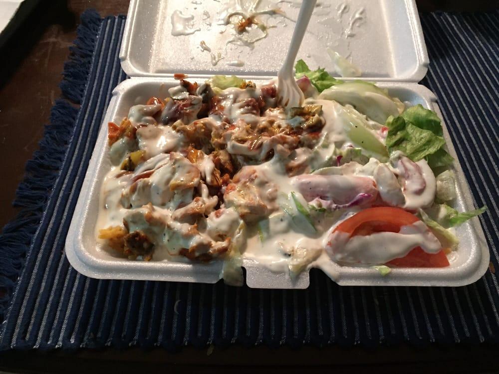 Halal Cart: Ditmars Blvd And 31-16 St, Astoria, NY