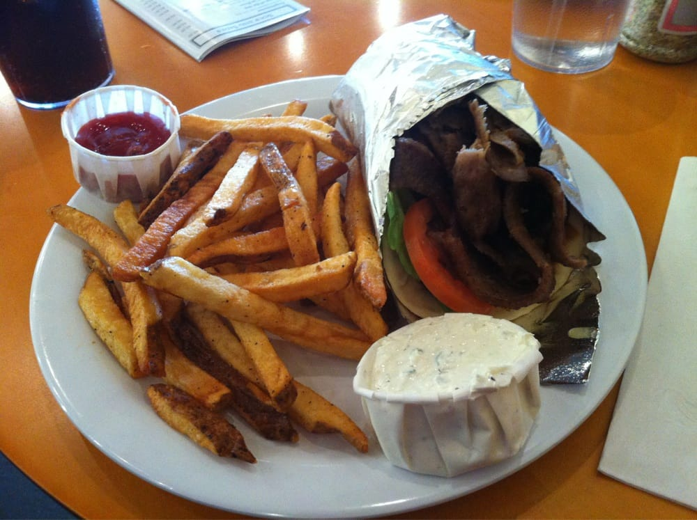Gyro and french fries best idea for lunch yelp for Afghan cuisine sugar land menu