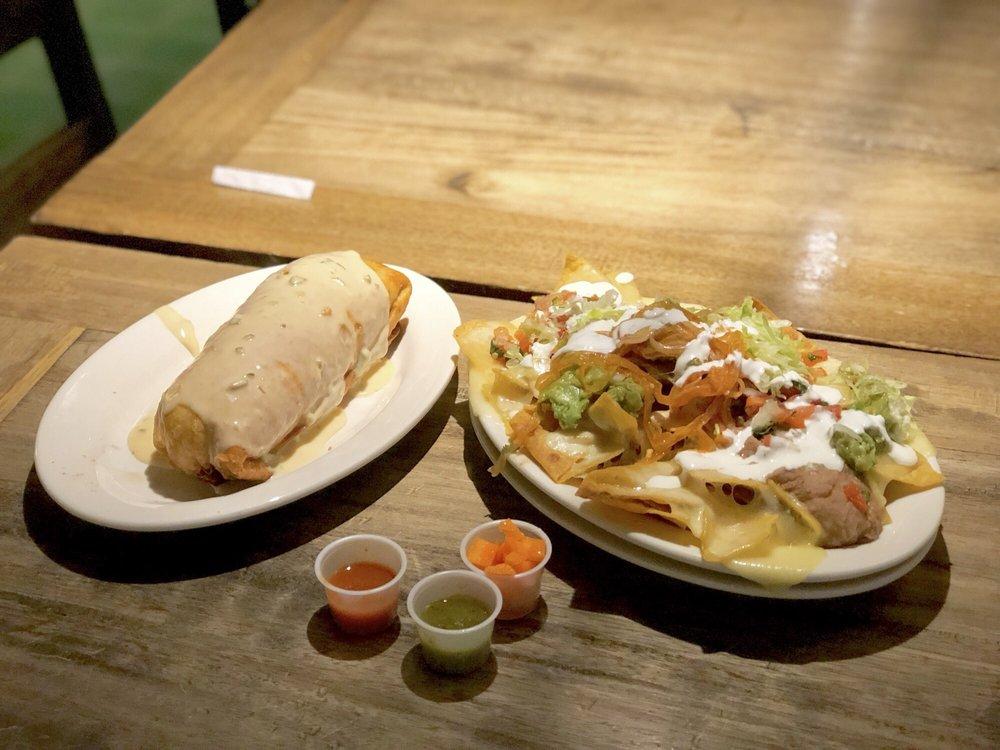 Food from Felipe's Taqueria