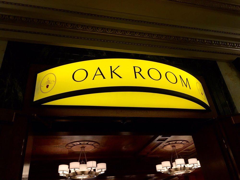 The Oak Room Restaurant San Francisco Ca