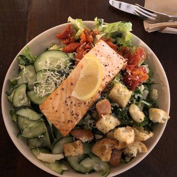 Photo Of Modern Market Eatery Bethesda Md United States Salmon Caesar Salad