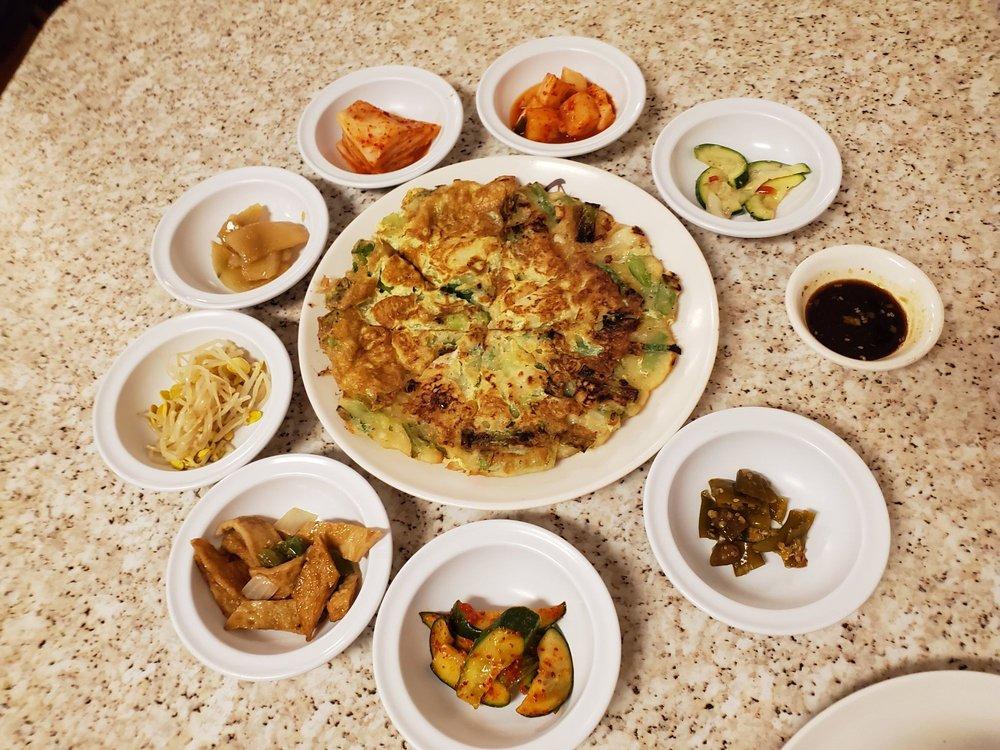 Food from Seoul Garden Korean Restaurant