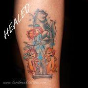 f6d3ba6dae7a6 ... Photo of David Meek Tattoos - Tucson, AZ, United States. Disney Mashup  watercolor