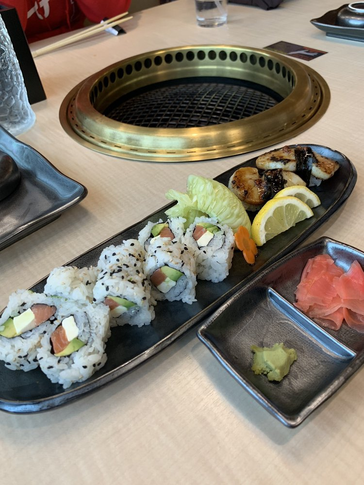 Food from Koen Japanese BBQ & Sushi