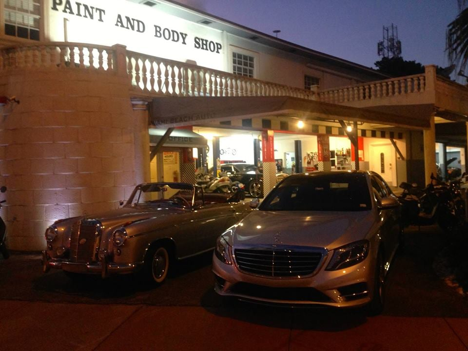 Old Mercedes Sl220 S And S550 For Paint Job Yelp