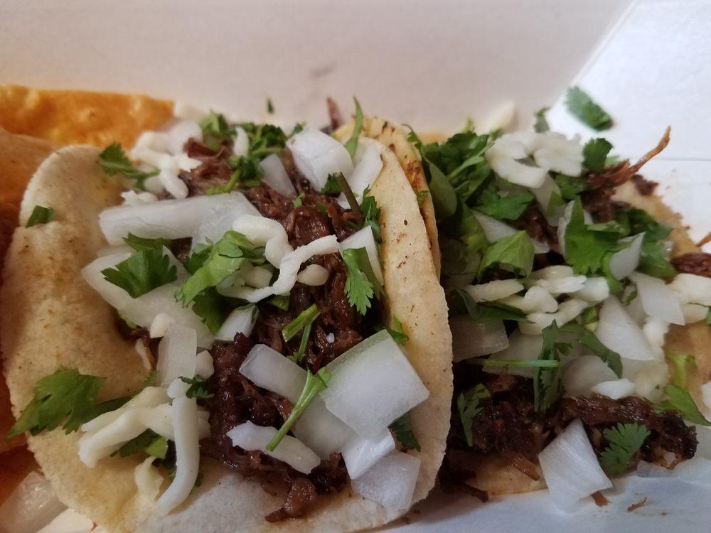 Food from Rock N' Taco
