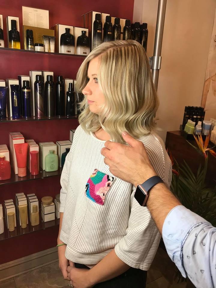 Hair done by shadi yelp for A la mode salon brooklyn