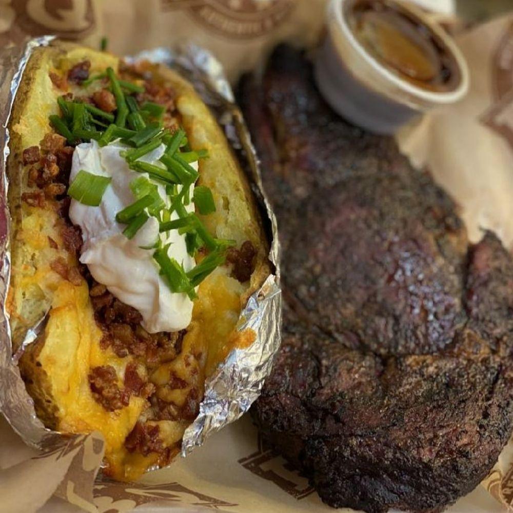 Big Bulls Bangn BBQ and Southern Comfort Food: 2614 Hard Scrabble Rd, Columbia, SC