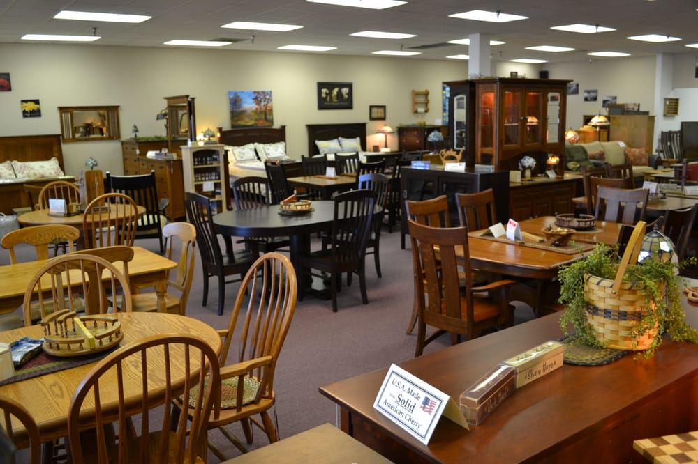 The amish store closed furniture shops 40 for Furniture stores in the states