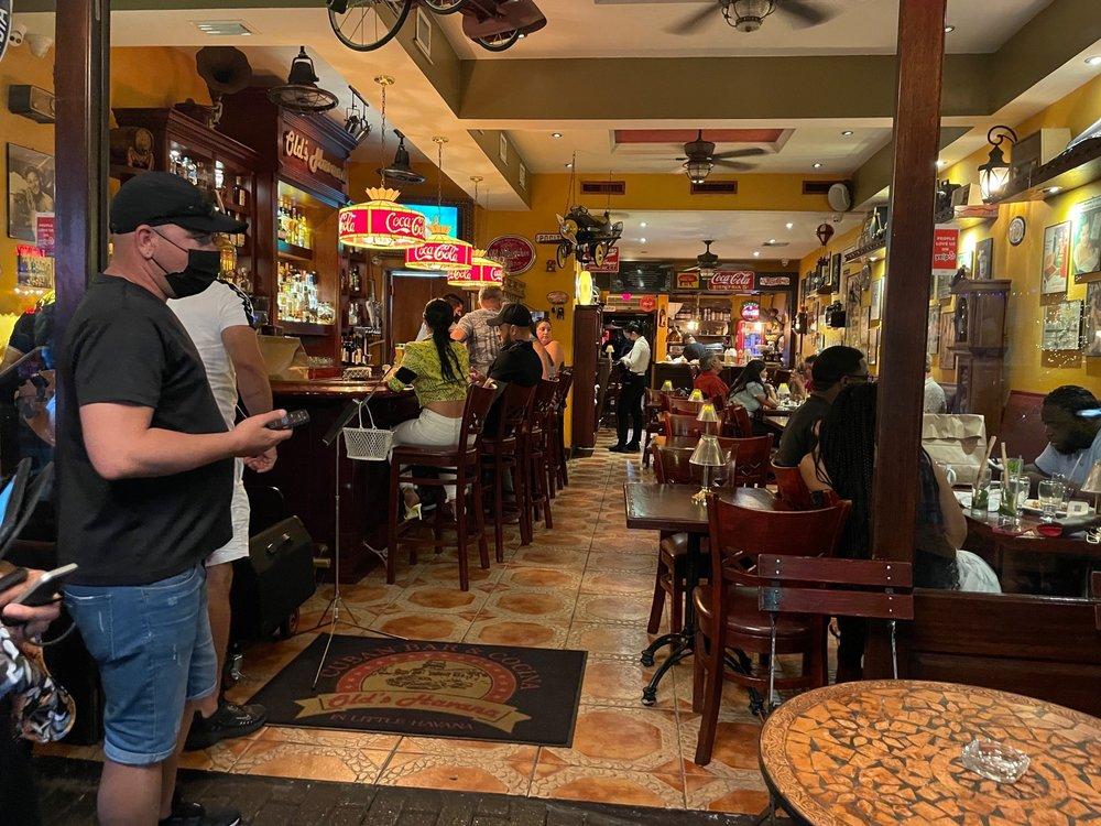 Food from Old's Havana Cuban Bar & Cocina