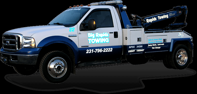 Big Rapids Towing: 20833 18 Mile Rd, Big Rapids, MI