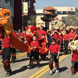 3e1e201d9 Photo of Chinatown's Chinese New Year Celebration - Chinatown, CA, United  States. Lion. Stan L. Lion and Dragon dances ...