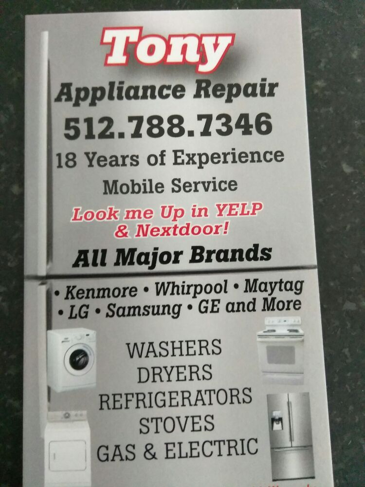 Tony Appliance Repair